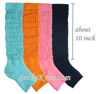 cotton leg warmer colors and length