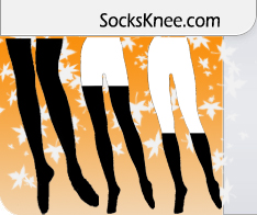socks knee shop icon