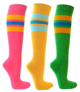 71030666f Couver Premium Like Oakland Athletics Striped Knee Hi socks Couver ...